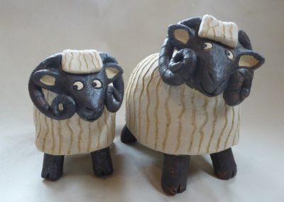 Pottery Sheep